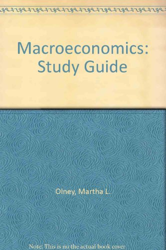 Study Guide t/a Macroeconomics Updated Edition