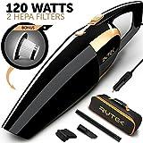 Car Vacuum - Car Vacuum Cleaner High power 120W - Portable Handheld Auto...