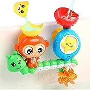 G-WACK Bath Toys for Toddlers Age 1 2 3 Year Old Girl Boy, Preschool New Born Baby Bathtub Water Toys, Durable
