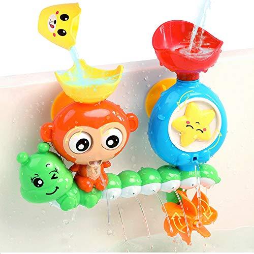 G-WACK Bath Toys for Toddlers Age 1 2 3 Year Old Girl Boy, Preschool New Born Baby Bathtub Water Toys, Durable…