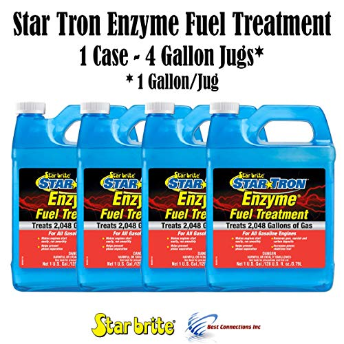 Star Brite Star Tron Enzyme Fuel Treatment 4 Gallons Treats 8192 Gallons of GS