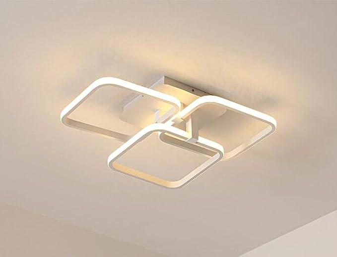 Plafoniere Led A Soffitto : Diy family® moderno soffitto in alluminio luce led vicino alla