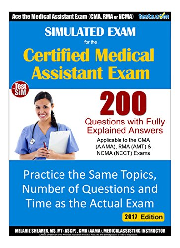 Amazon.com: Simulated Practice Exam for Medical Assistant ...