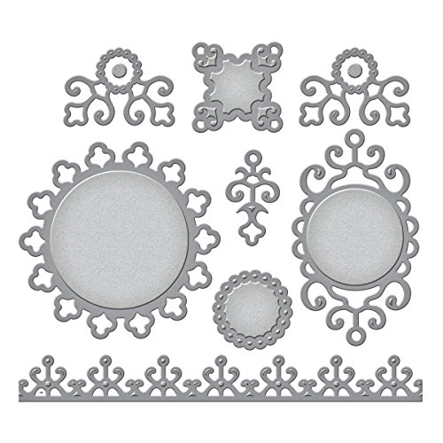 (Spellbinders Ironwork Accents Etched/Wafer Thin Dies)
