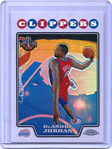 2008-09 Topps Chrome Refractor Basketball Card # 209 DeAnddre Jordan (Refractors Card Basketball)