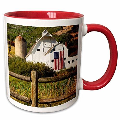 3dRose 147164_5 Mcpolin-Osguthorpe Barn in Park City Utah USA Ceramic Mug, - Park Outlets City Utah