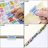 Decorative Bible Tabs Peel and Stick Colorful Bible Indexing Tabs for Bible Reading 72 Piece Old and New Testament