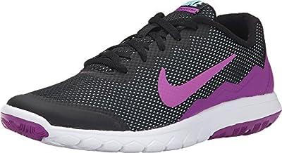 Nike Men's Flex Experience RN (Black/Vivid Purple/Copa/White) Running Shoe, 5.5 B(M) US