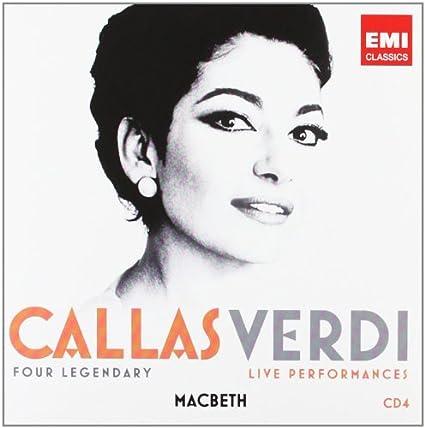 Maria Callas - Verdi: Maria Callas, Giuseppe Verdi: Amazon.es: Música