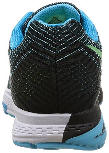 Nike Air Zoom Structure 18 - Zapatillas para hombre Blue Lagoon/Clrwtr-Blk-Flsh Lm