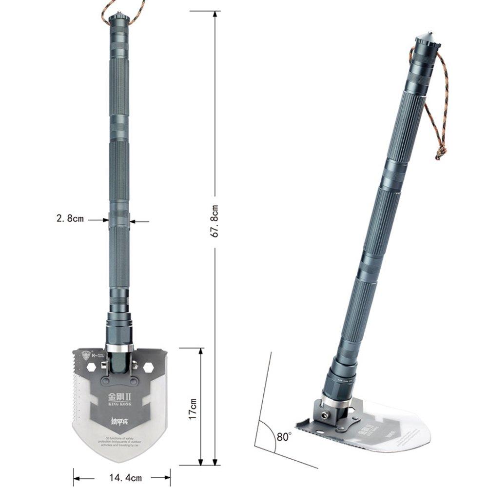 Bluedreams Multi-function Military Folding Shovel