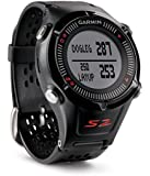 Garmin Approach S2 GPS Golf Watch with Worldwide Courses (Black)
