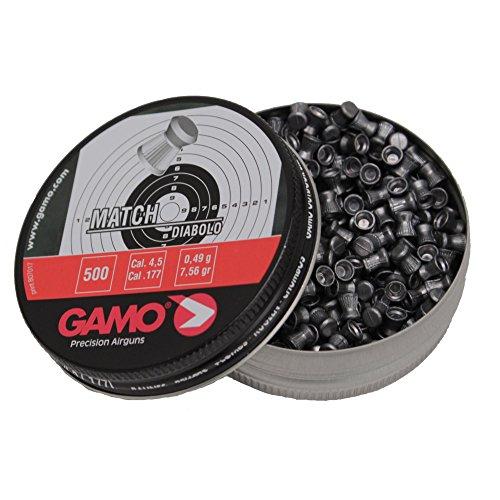 Match Pellets Flat Nose (Per 500) Gamo 632003454