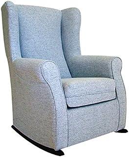 fabulous suenoszzz fauteuil oreilles bascule idal pour avec revtement type with fauteuil bascule. Black Bedroom Furniture Sets. Home Design Ideas
