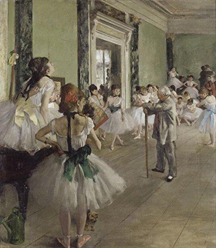 Gifts Delight Laminated 24x27 Poster: Edgar Degas - The Ballet Class - Google Art Project (Google Art Project)