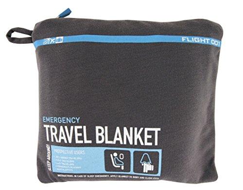 (Flight 001 Travel Blanket, Charcoal)