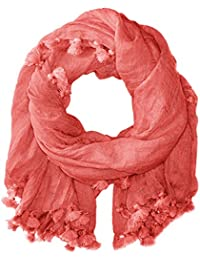 Women's Tassle Trim Scarf Wrap