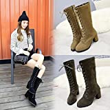 Women Fashion Sneaker - Ladies Soft Flat Ankle Martin Shoes - Female Suede Leather Lace-Up Boots - Soft Sole - MOONHOUSE