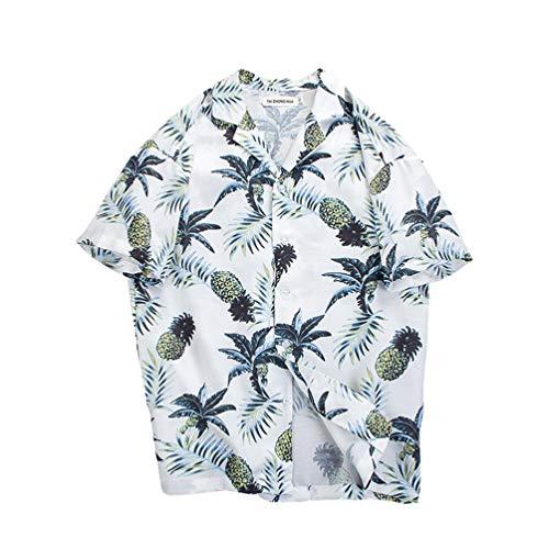 お互い支払い言い訳[XINXIKEJI] アロハ シャツ メンズ 短パン 上下セット 夏 半袖シャツ ビーチシャツ 開襟シャツ 大きいサイズ 夏 総柄プリントシャツ ゆったり おしゃれ 通気性 花柄アロハシャツ レディース M-XXL