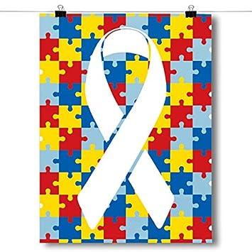 Amazon.com: Inspired carteles autismo conciencia Cartel de ...