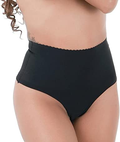 Women/'s Cotton Underwear Shapewear High Waist Briefs Thong Tummy Control Panties