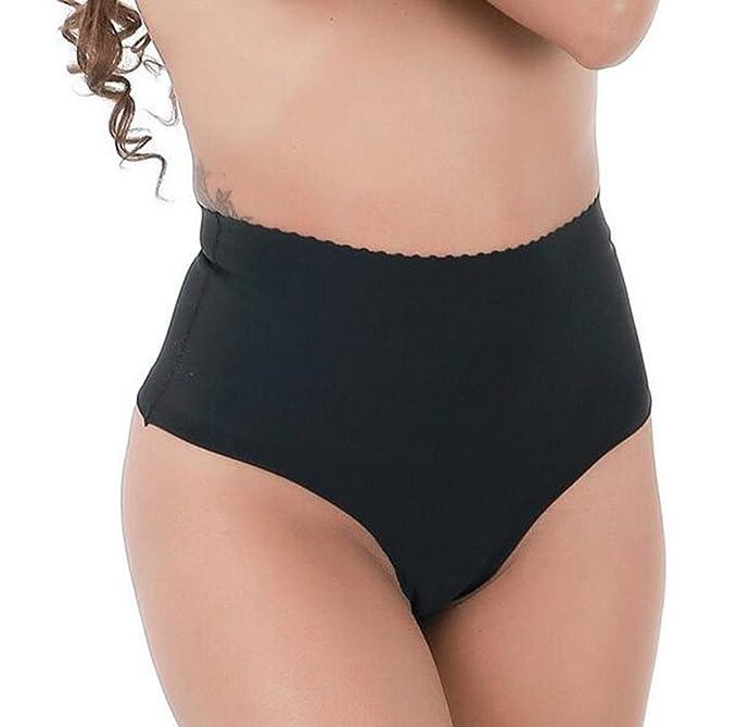 fd5012c0591 Ci-Guo Women s Seamless Plus Size Panties High-Waist Sliming Underwear  Bikini Shapewear Thong