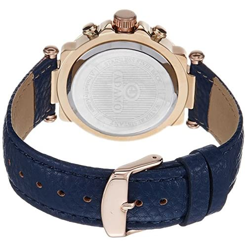 51XxCWFFMQL. SS500  - ADAMO Multifunction Analog Blue Dial Women's Watch - A208KB05