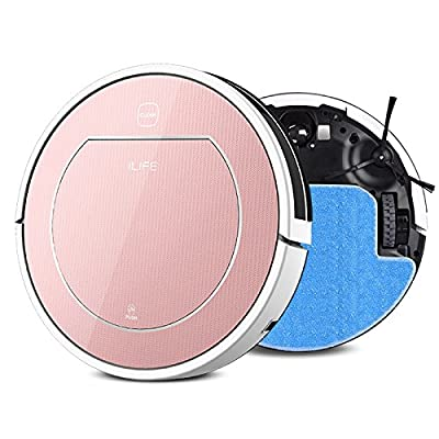 ILife,IFIX 3C V7s Robot Vacuum Cleaner Smart Remote Control Vacuum Cleaning Robotic Cleaner Automatic Mother's Day Gift with Water