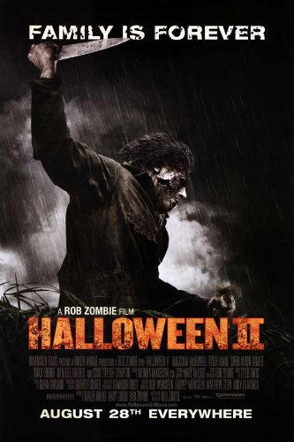 (Pop Culture Graphics Halloween 2 Poster G 27x40 Sheri Moon Zombie Chase Wright Vanek Scout)
