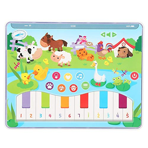 Baby Learning Machine, Multifunction Language Learning Reading Story Machine Kids Early Educational Music Toys Study Animal Cognition Piano Playing Farmyard Theme Gift Toy