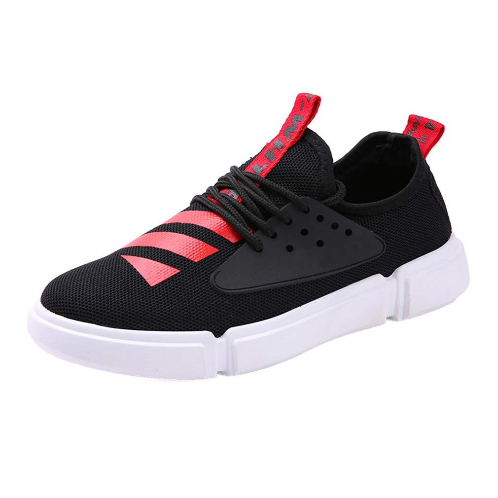 Gfphfm Herrenschuhe, Spring Fall New Breathable Casual Casual Casual schuhe Fashion komfortable Lace-Up Sportschuhe,C,40 d08940
