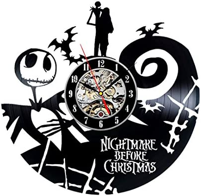 Nightmare Before Christmas Fan Collection Vinyl Wall Clock