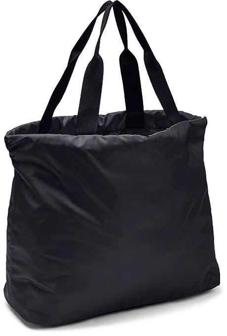 Under Armour UA Favorite Tote Bolsa Deportiva, Mujer, Gris (Jet Gray/Black/Black 010), 53 cm x 18 cm x 36 cm