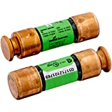 Bussmann BP/FRN-R-30 30 Amp Fusetron Dual Element Time-Delay Current Limiting Class RK5 Fuse, 250V Carded UL Listed, 2-Pack