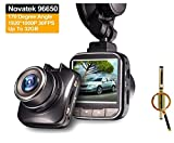 G50 Mini Novatek 96650 Full HD Car Dash Cam DVR Recorder with 1080p 30FPS 170 Wide Angle Lens Advanced WDR Premium Video Image HDMI AV Out + Blueskysea Free Gift Gel Pen (DVR Only)