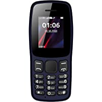 I Kall K14 with 1.8 Inch Colour Display Multimedia Phone Without Camera (Dark Blue)