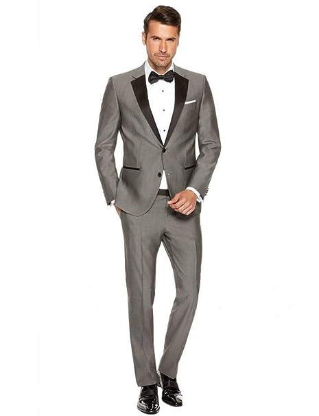 Amazon.com: Conjunto de 2 piezas de traje para hombre con ...