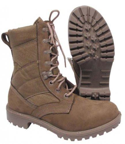 Leder Desert khaki Brit neuw Boots Cordura ITURRI qBSCgx