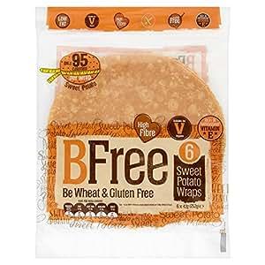 BFree Gluten Free Wrap Tortillas Sweet Potato 8 Inch Vegan Wheat Free Dairy Free (3 Pack)