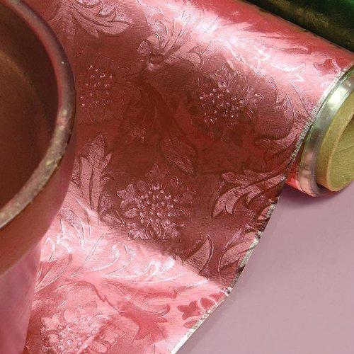 Polyethylene Pink Embossed Floral Foils 20