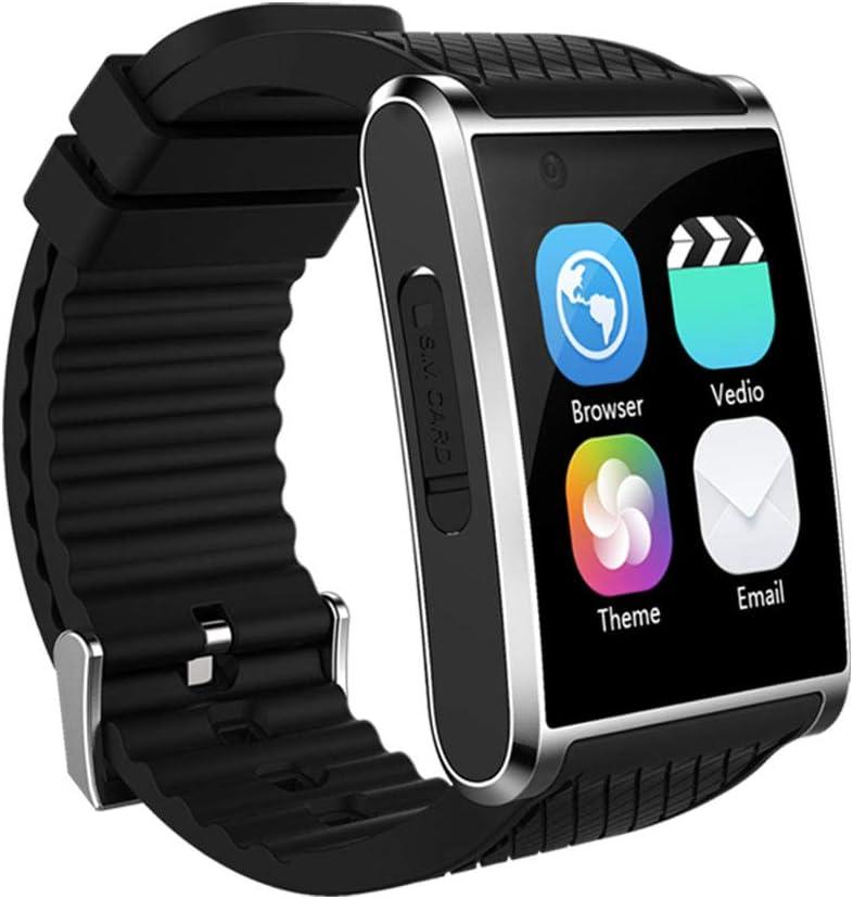 Tlgf Smartwatch Música Fitness Reloj con Cámara Frontal De Alta Definición, Quad Core 1.3 GHz, GPS/WiFi/SIM Compatibles, Compatible con Android E iOS