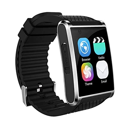 Amazon.com: Tlgf Smartwatch Music Fitness Watch with Front ...