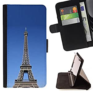 DEVIL CASE - FOR LG G3 - Architecture The Eiffel Tower Tour - Style PU Leather Case Wallet Flip Stand Flap Closure Cover