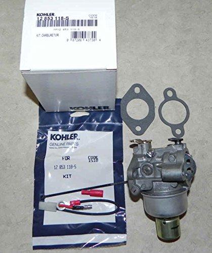 Kohler 12-853-118-S Lawn & Garden Equipment Engine Carburetor by Kohler (Image #1)