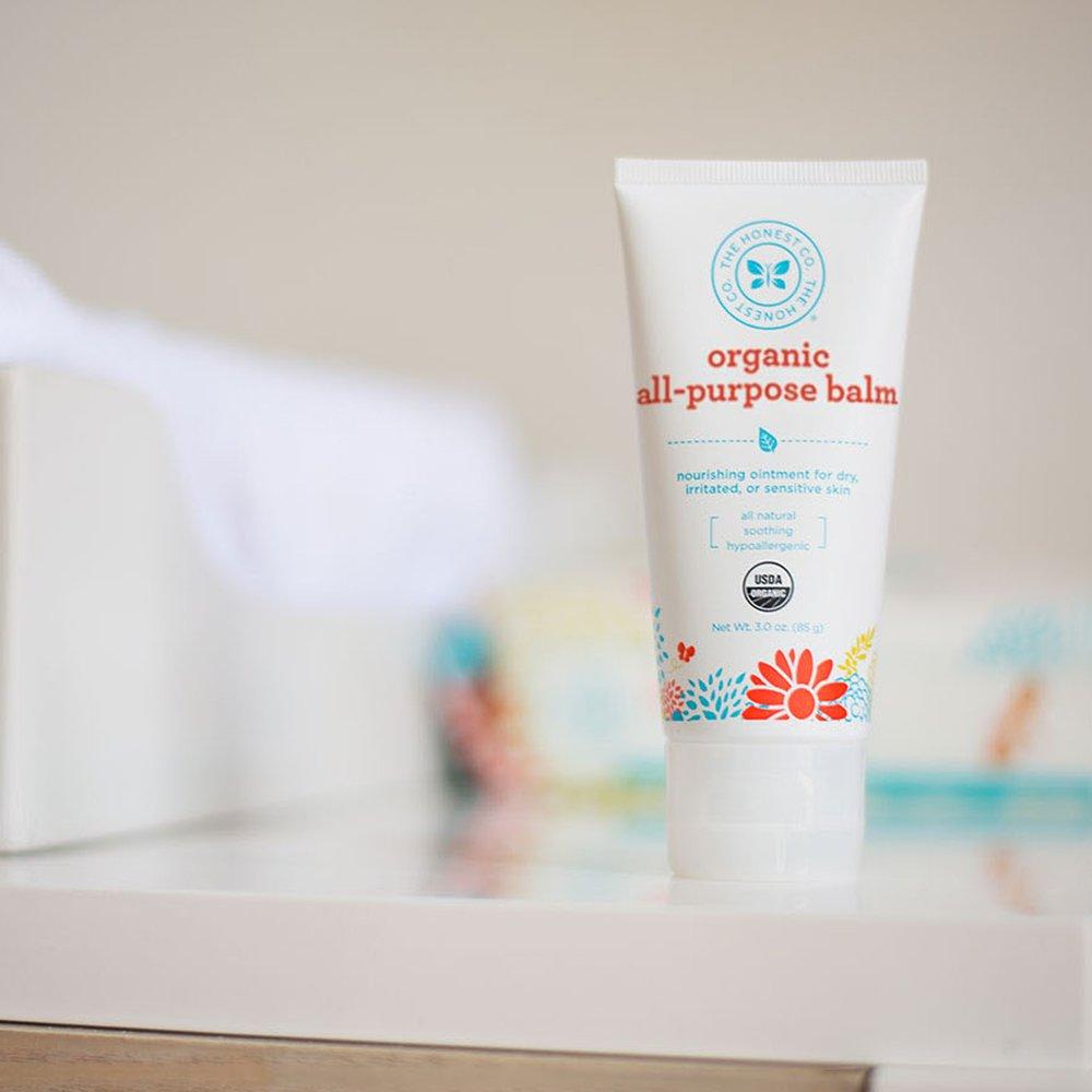 The Honest Company Healing Bálsamo calmante Protección y Socorro para la piel sensible y erupción pañal, 3 oz: Amazon.es: Salud y cuidado personal