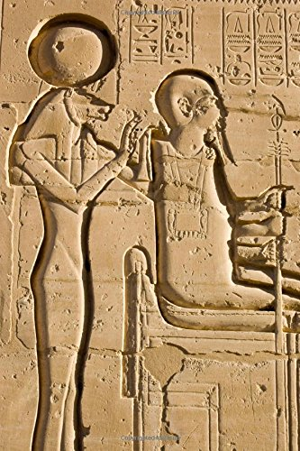 Sekhmet and Ptah in Luxor Egypt Journal: 150 page lined notebook/diary ()