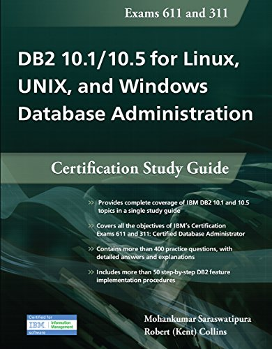 DB2 101105 for Linux UNIX and Windows Database Administration Certification Study Guide