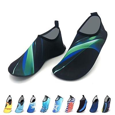 Alatimi Water Socks Shoes, Women Men Quick-Dry Barefoot Socks Beach Swim Surf Yoga: Clothing