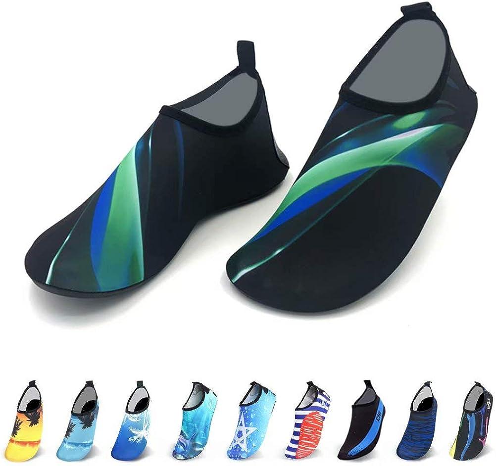 Alatimi Water Socks Shoes, Women Men Quick-Dry Barefoot Socks Beach Swim Surf Yoga