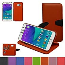 Samsung Galaxy NOTE 5 Case,Mama Mouth [DETACHABLE Feature] Folio Flip Hard Case [Stand View] Premium PU Leather [Wallet Case] With Built-in Media Stand ID Credit Card / Cash Slots and Inner Pocket Cover For Samsung Galaxy NOTE 5, Orange